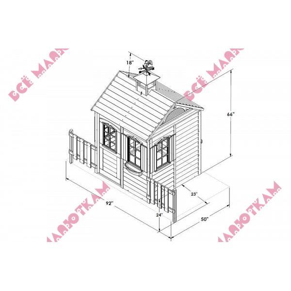 Домик на даче своими руками чертежи схемы 105