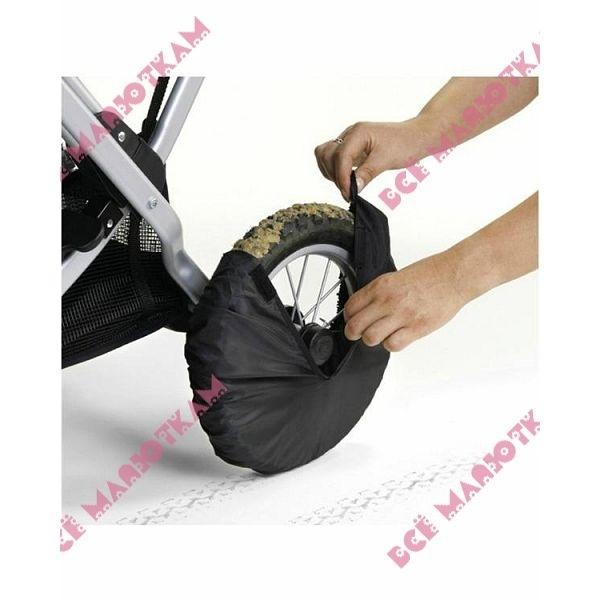 Чехлы на колеса коляску своими руками