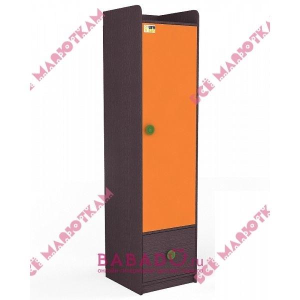 Шкафы-пеналы : шкаф-стеллаж с нижним ящиком оранси ufokids.
